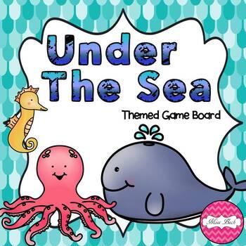 Under The Sea (Sea Theme Game Board)