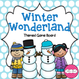 Winter Wonderland (Winter Themed Game Board)