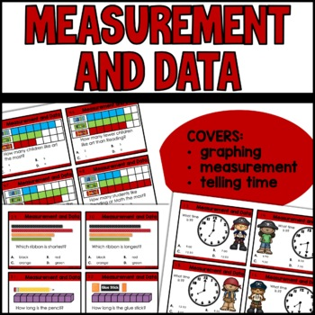 Measurement and Data game | Time | Graphing | Measurement