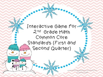Math Game to Review the 2nd Grade Common Core Standards