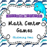 First Grade Addition Math Game - Center