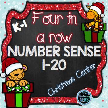 Christmas Math Game Numbers 1-20