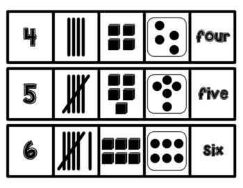 Math Number Representation Matching Games