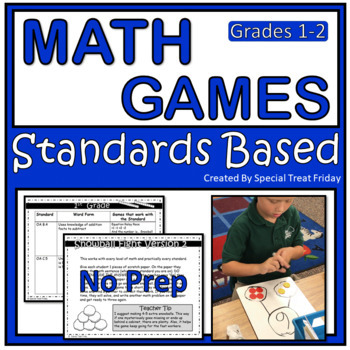 Math Games with Low Prep