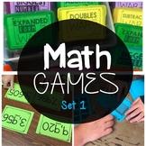 Math Games 2nd Grade Set 1