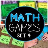 Math Games 3rd Grade Set 1