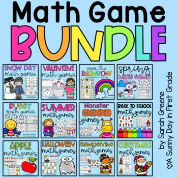 Math Games ALL YEAR LONG!
