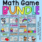 Math Game Bundle for Addition, Subtraction, Place Value & More