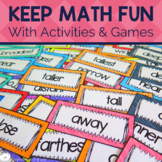 Fun Math Activities and Math Games