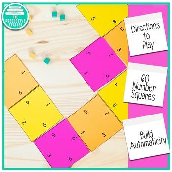 Math Games: Addition (Gotta Get 10!)