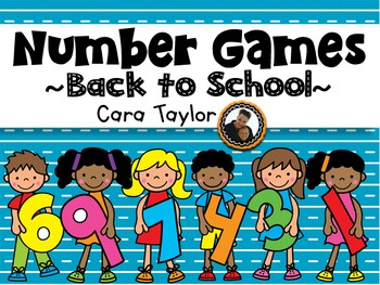 Math Games ~ Back to School