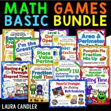 Math Games Basic Bundle - Math Games for 3rd Grade