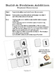 Math Games: Build-A-Problem Addition and Subtraction