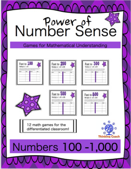 Math Games Build Number Sense Numbers from 100-1,000