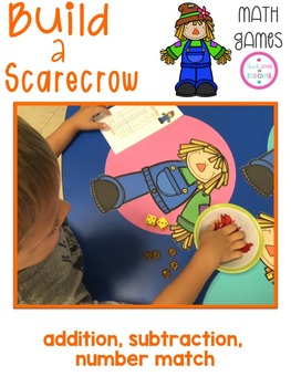 Math Games - Build a Scarecrow
