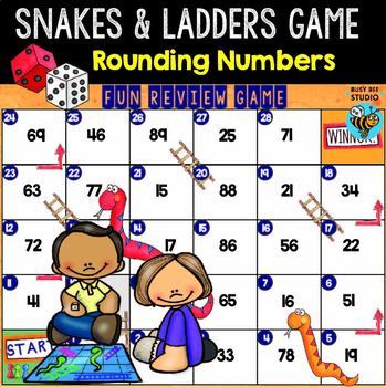 Math Games Bundle 2 | Snakes and Ladders