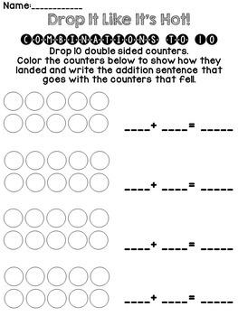 Math Games Bundle- 8 Games Kindergarten and First Grade