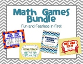 Math Center Games Bundle