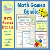 Math Games - Basic Operations, Place Value, Time, Decimals