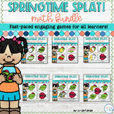 Spring Math Games - Math SPLAT! Games Bundle