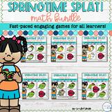 Spring Math Games - Math SPLAT! Games Bundle