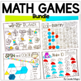Math Games Bundle for the Year