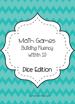 Math Games: Dice Edition