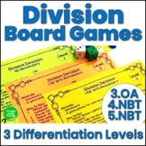 Math Games Division Activities