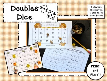Math Games:  Doubles Dice!