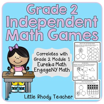 Math Games Grade 2: EngageNY Module 1 Companion