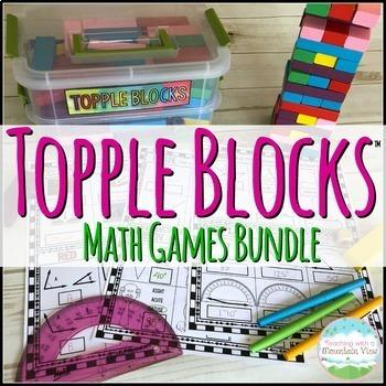 Topple Blocks™ Math Games Bundle