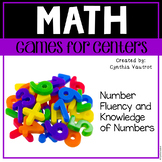 Math Games for Math Centers