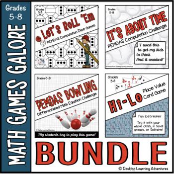 Math Games Galore Bundle