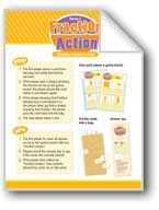 Math Games (Grades 1-2): Fraction Action (Identifies Fract