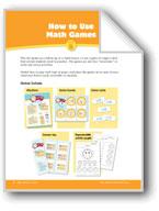 Math Games (Grades 1-2): How to Use & Make Math Games
