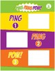Math Games (Grades 1-2): Ping Pang Pow! (One-to-One Matching)