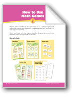 Math Games (Grades 2-3): How to Use & Make Math Games