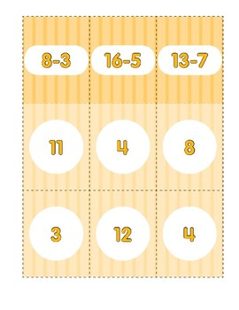 Math Games (Grades 2-3): Subtract It (Subtraction Facts)