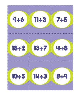 Math Games (Grades 3-4): Concentration (Addition & Subtraction Review)