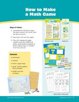 Math Games (Grades 3-4): How to Use & Make Math Games