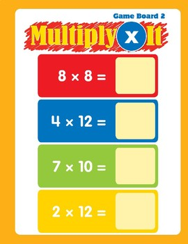 Math Games (Grades 3-4): Multiply It (Multiplication Facts to 12)