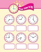 Math Games (Grades 3-4): What Time Is It? (Time to the Minute)