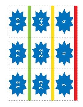Math Games (Grades K-1): Ping Pang Pow! (One-to-One Matching)