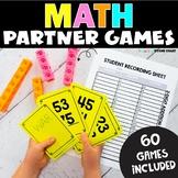 Math Games 2nd Grade   Partner Math Games