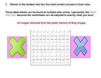 Math Games: It Takes Two