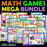 Math Games Mega Bundle - Math Games for 4th and 5th Grade