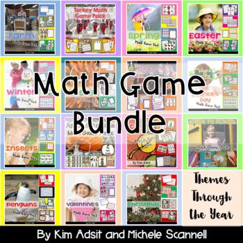 Math Games Mega Bundle