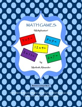 Math Games: Multiplication