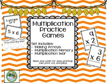 Math Games: Multiplication