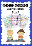 Math Games - Multiplication Bump